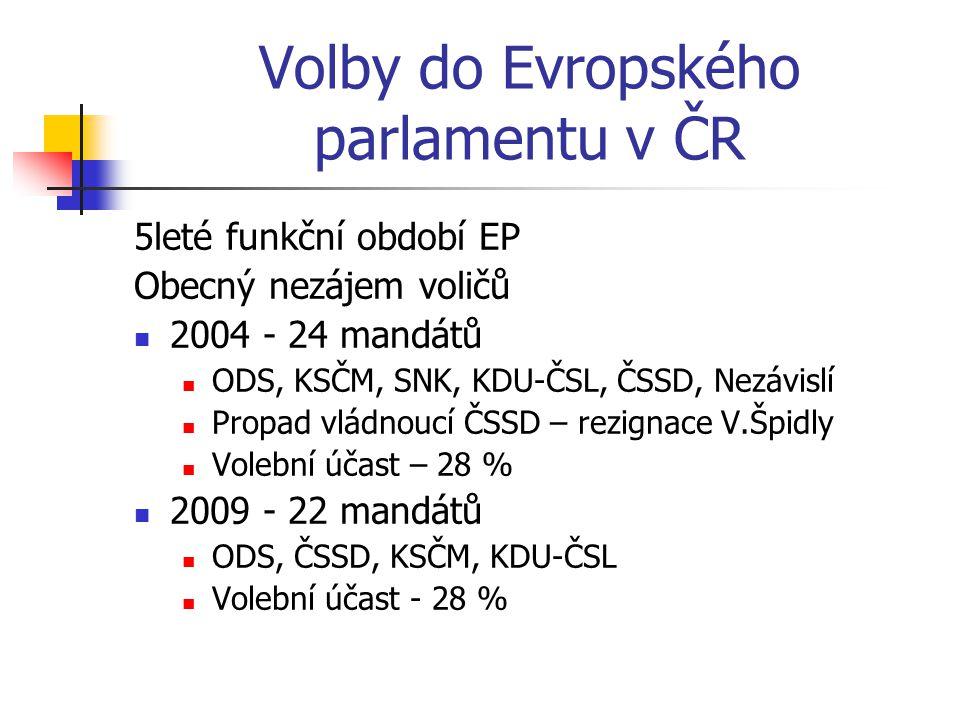 Volby do Evropského parlamentu v ČR