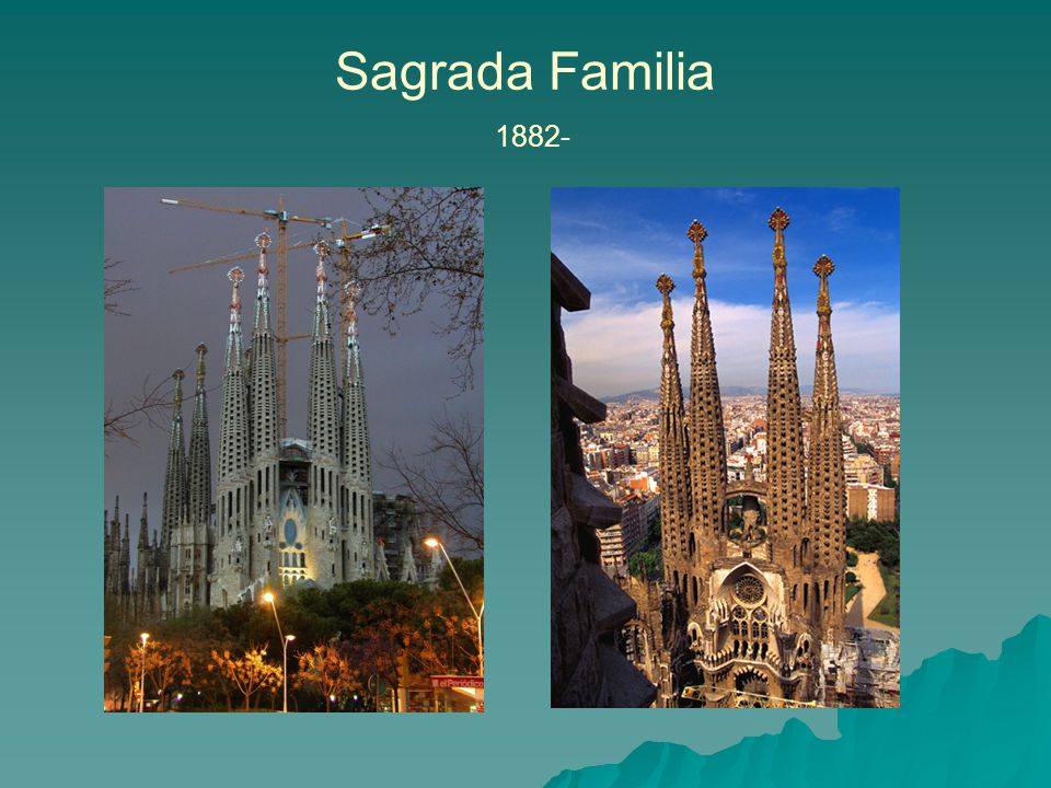 Sagrada Familia 1882-