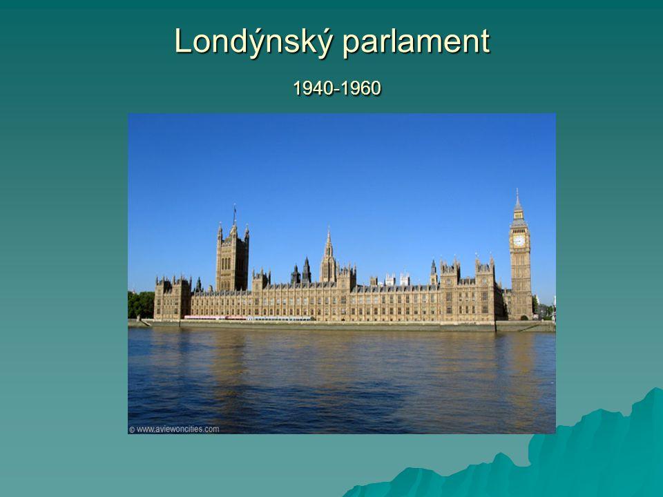 Londýnský parlament 1940-1960