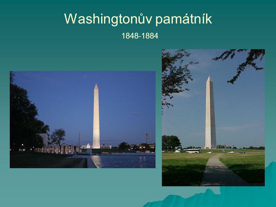 Washingtonův památník 1848-1884