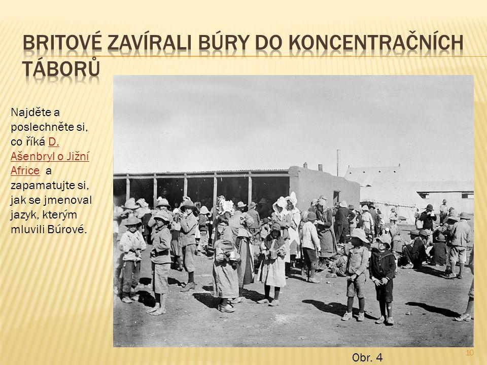 Britové zavírali Búry do koncentračních táborů