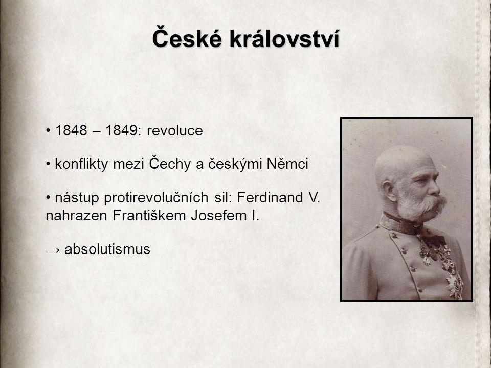České království 1848 – 1849: revoluce