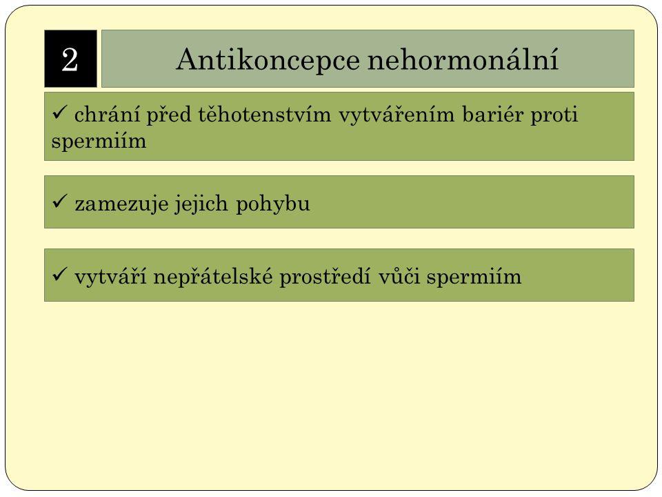 Antikoncepce nehormonální