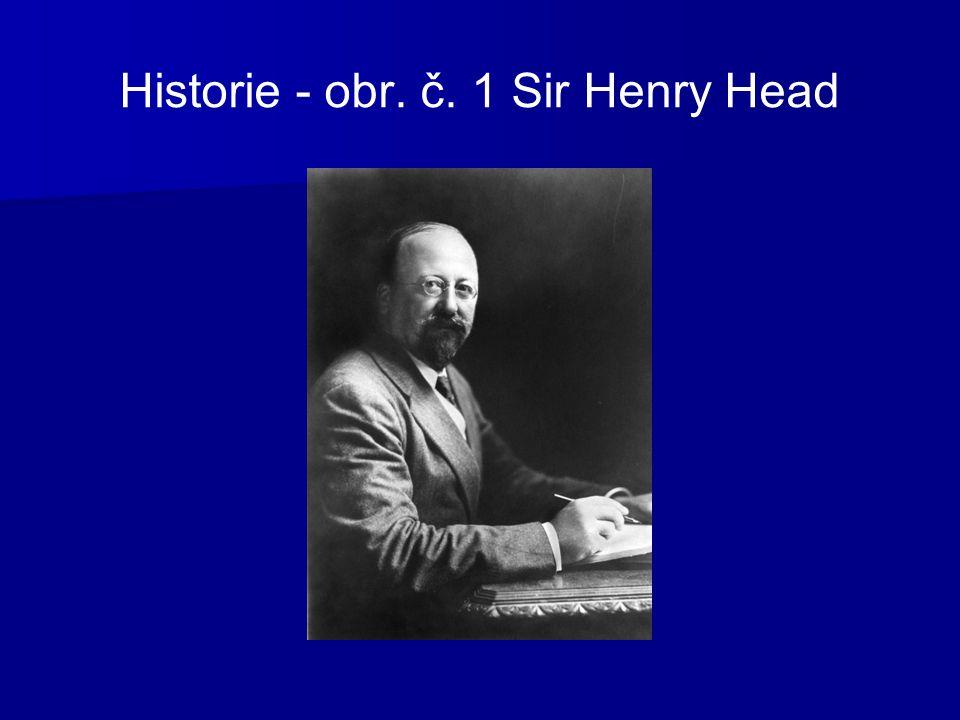 Historie - obr. č. 1 Sir Henry Head