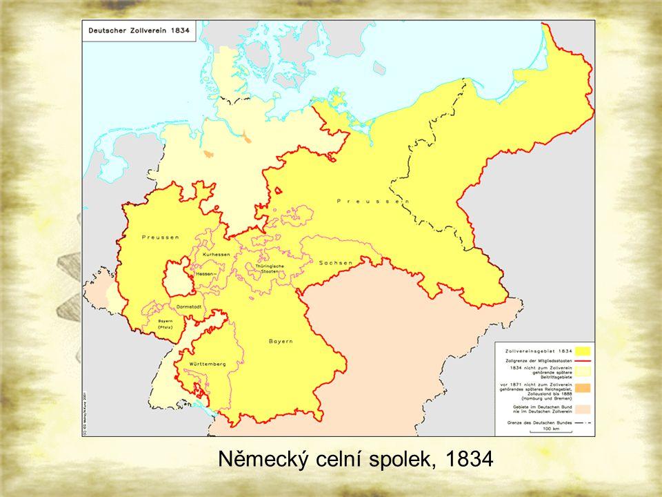 Německý celní spolek, 1834