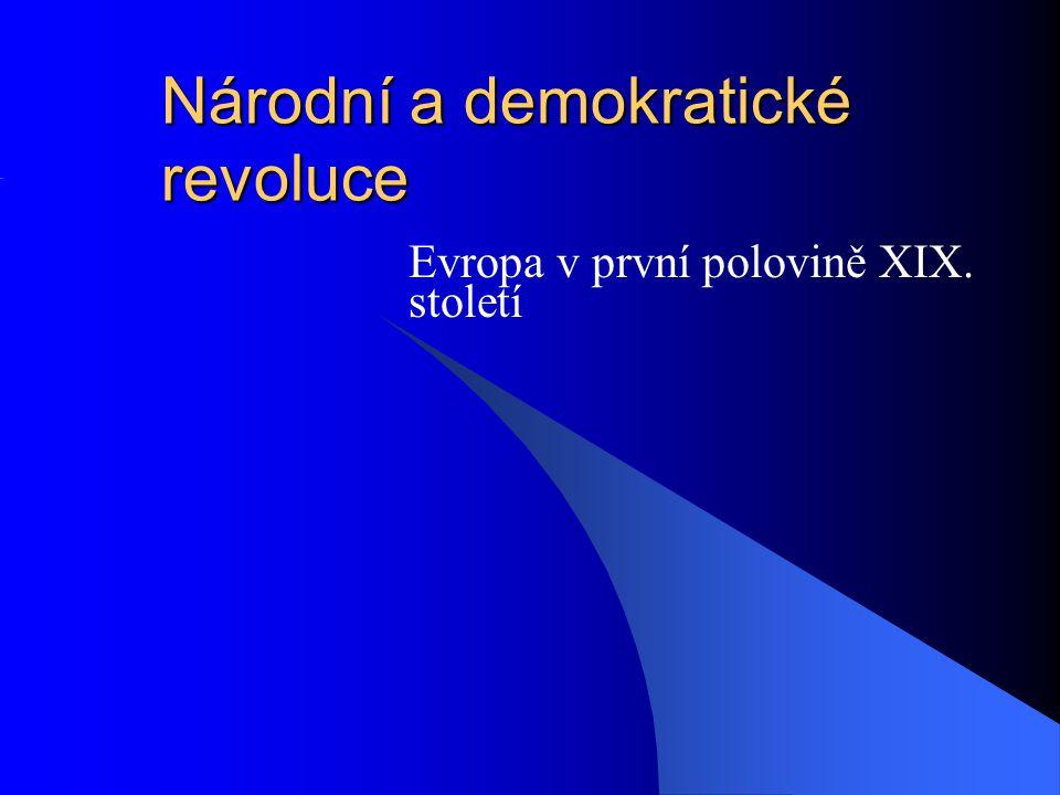 Národní a demokratické revoluce