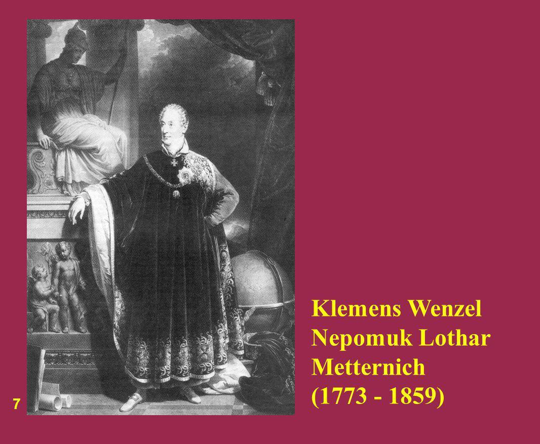 Klemens Wenzel Nepomuk Lothar Metternich