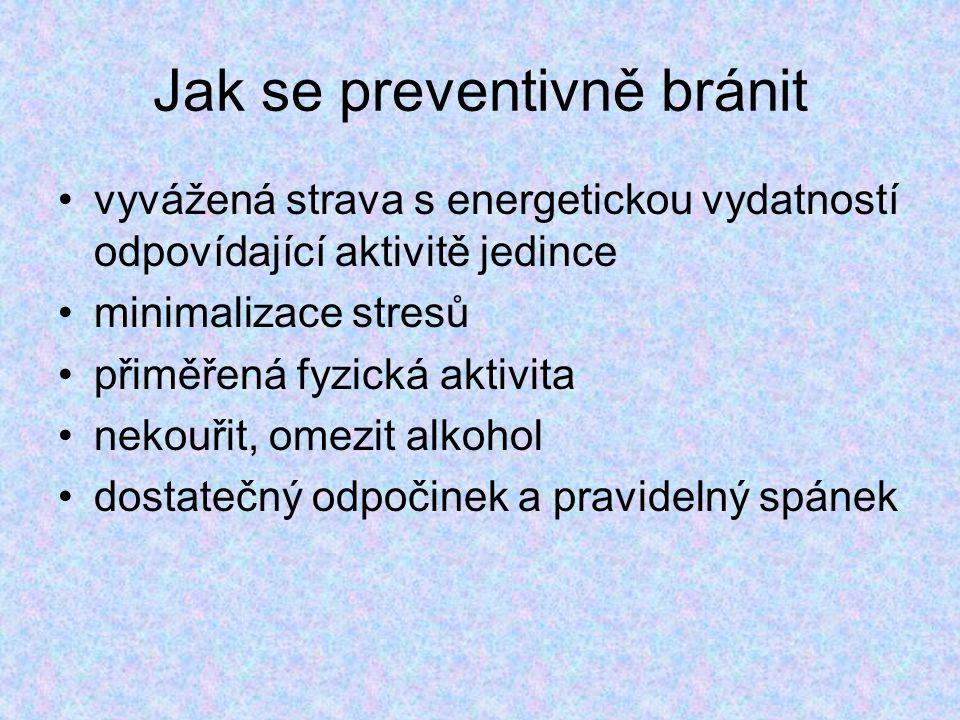 Jak se preventivně bránit