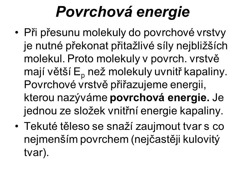 Povrchová energie