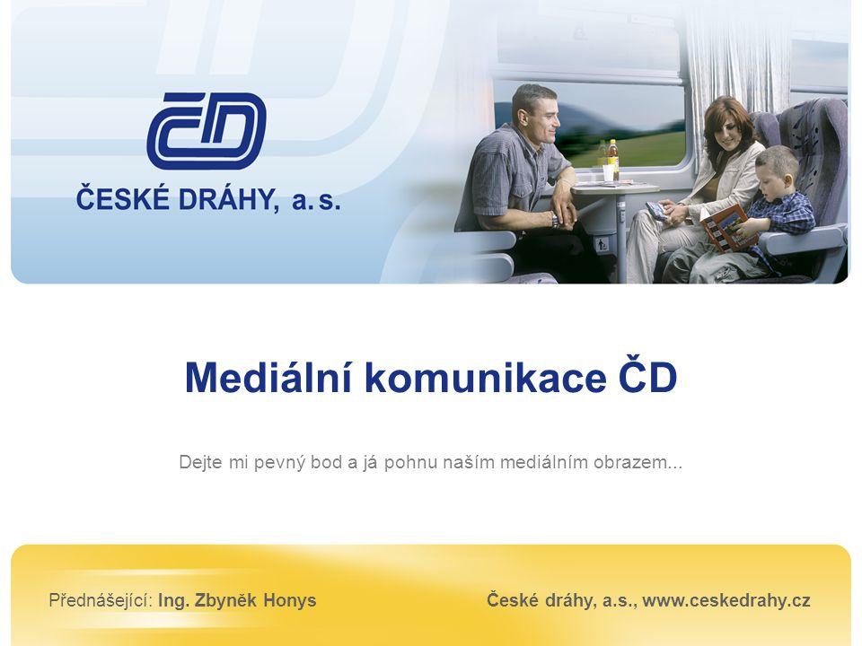 Mediální komunikace ČD