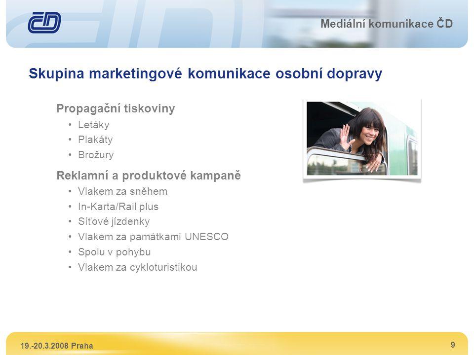 Skupina marketingové komunikace osobní dopravy