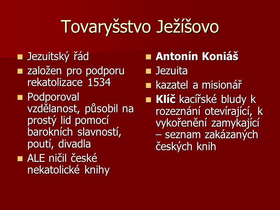 Tovaryšstvo Ježíšovo Jezuitský řád