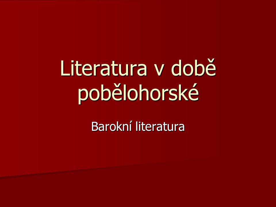 Literatura v době pobělohorské