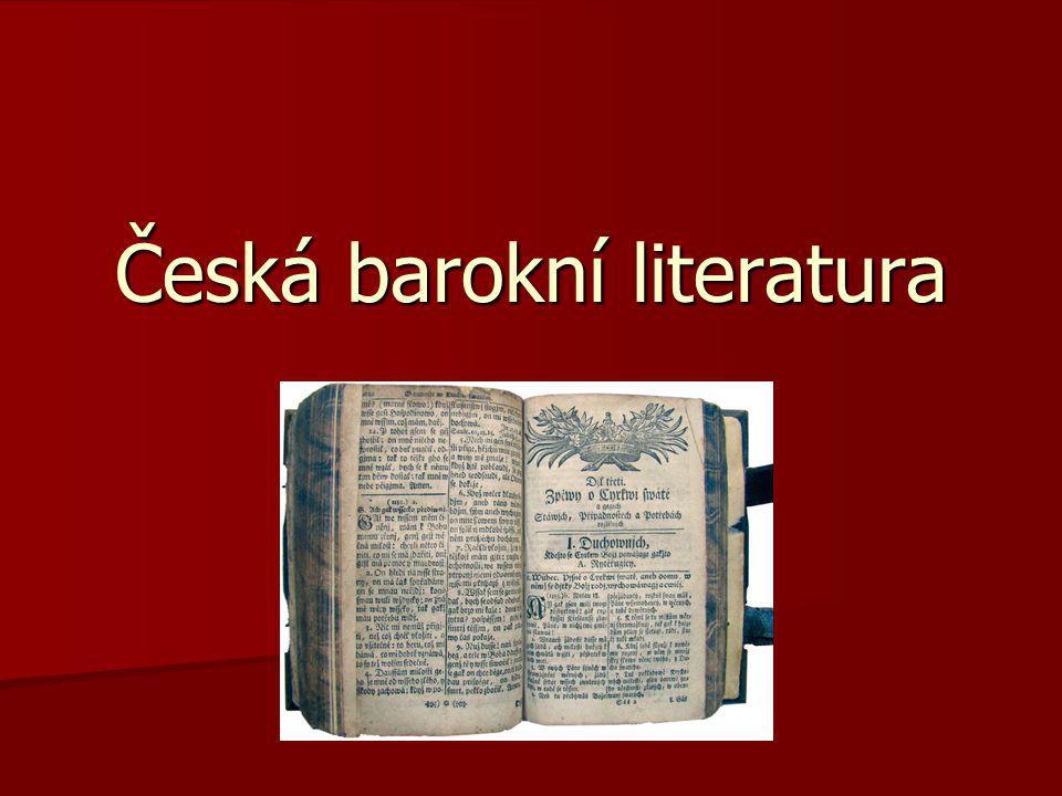 Česká barokní literatura