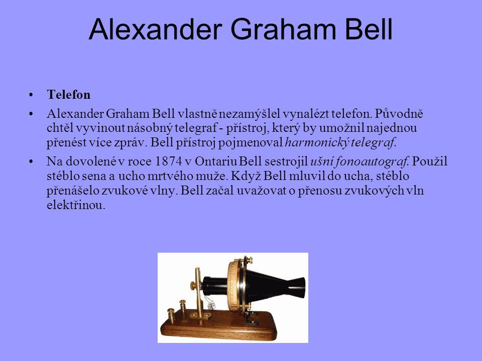 Alexander Graham Bell Telefon