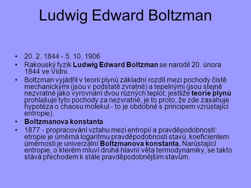 Ludwig Edward Boltzman