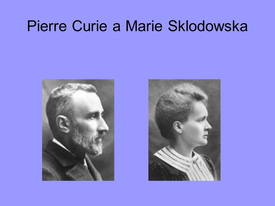 Pierre Curie a Marie Sklodowska