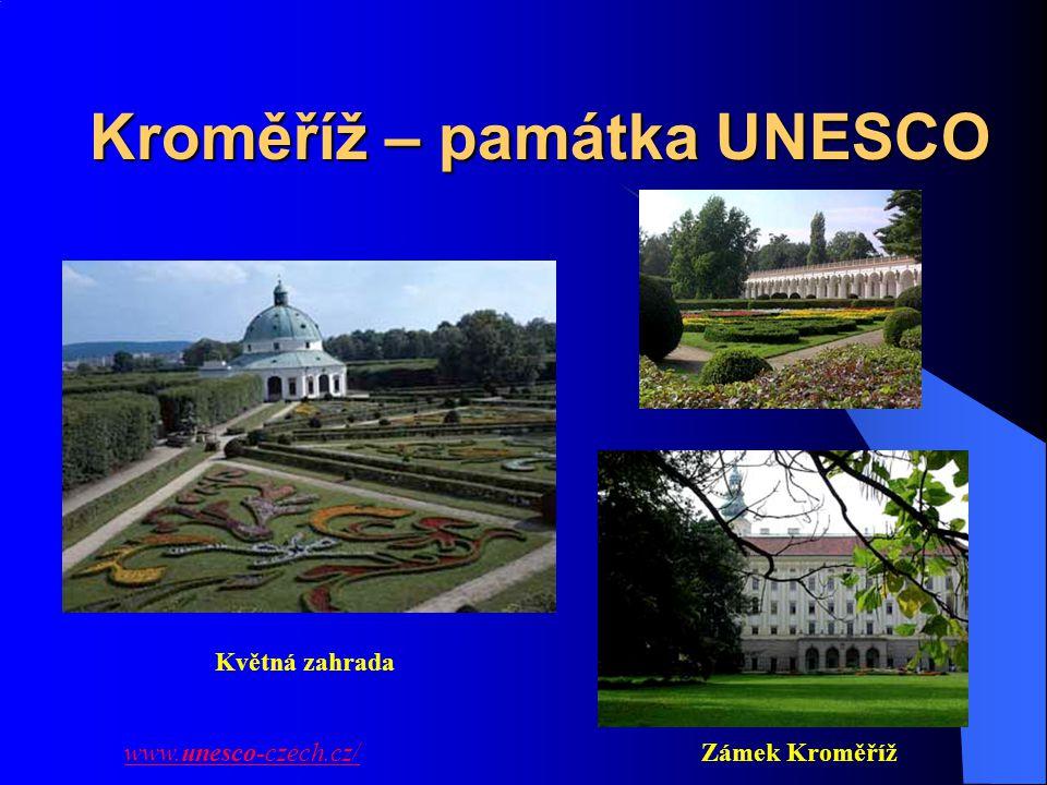 Kroměříž – památka UNESCO