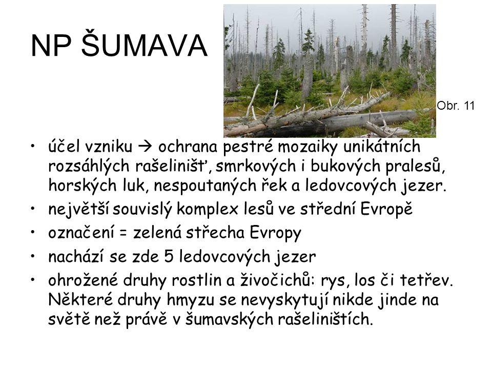 NP ŠUMAVA