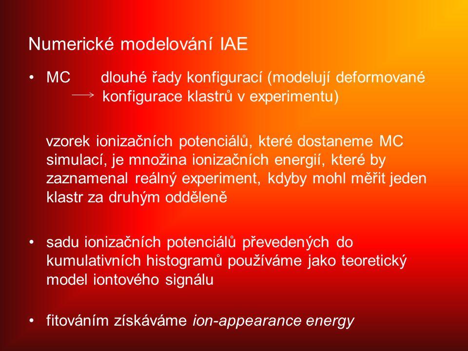 Numerické modelování IAE