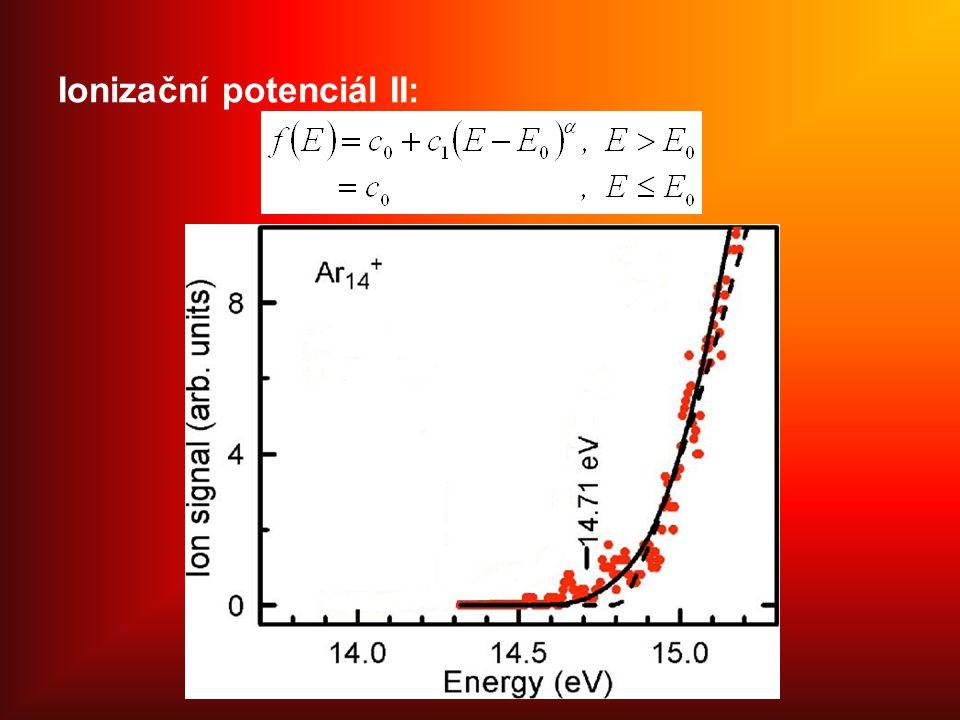 Ionizační potenciál II: