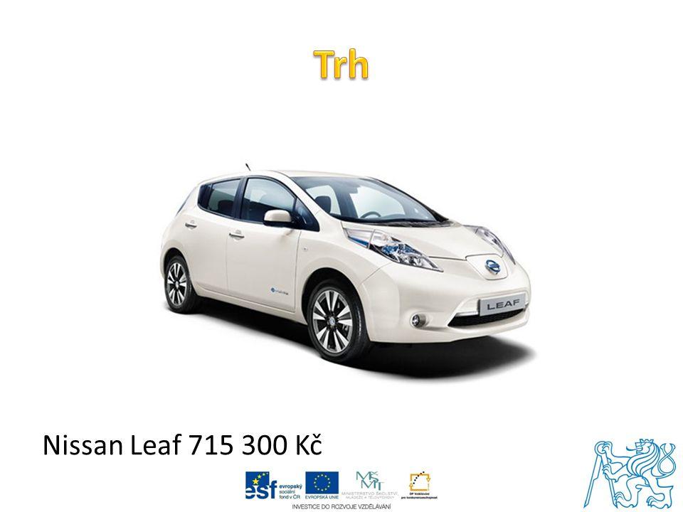 Trh Nissan Leaf 715 300 Kč