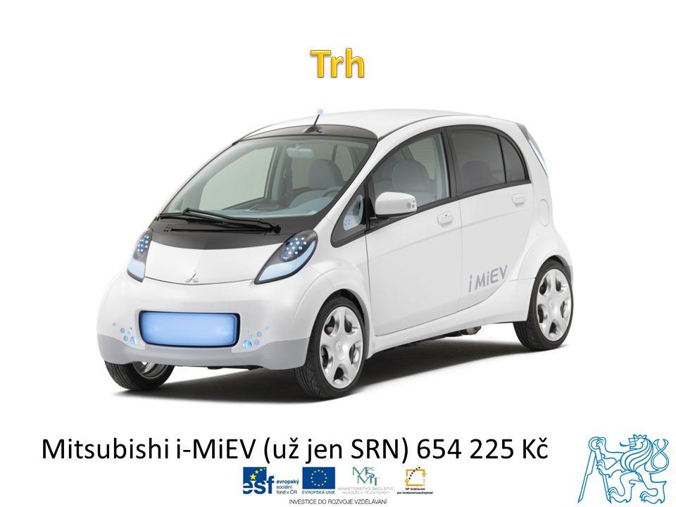 Trh Mitsubishi i-MiEV (už jen SRN) 654 225 Kč