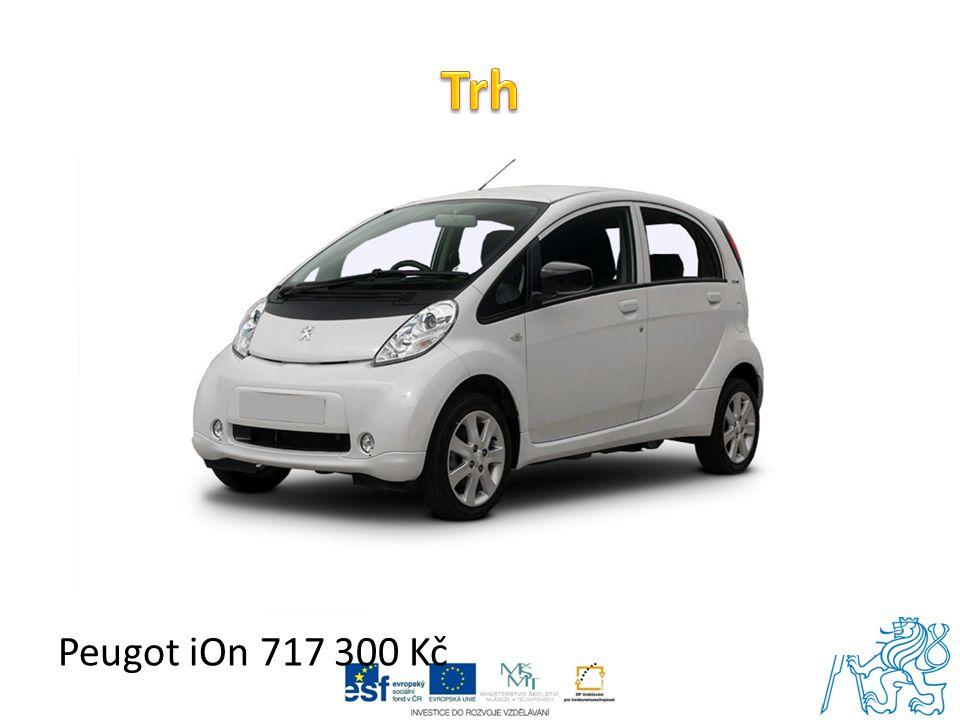 Trh Peugot iOn 717 300 Kč