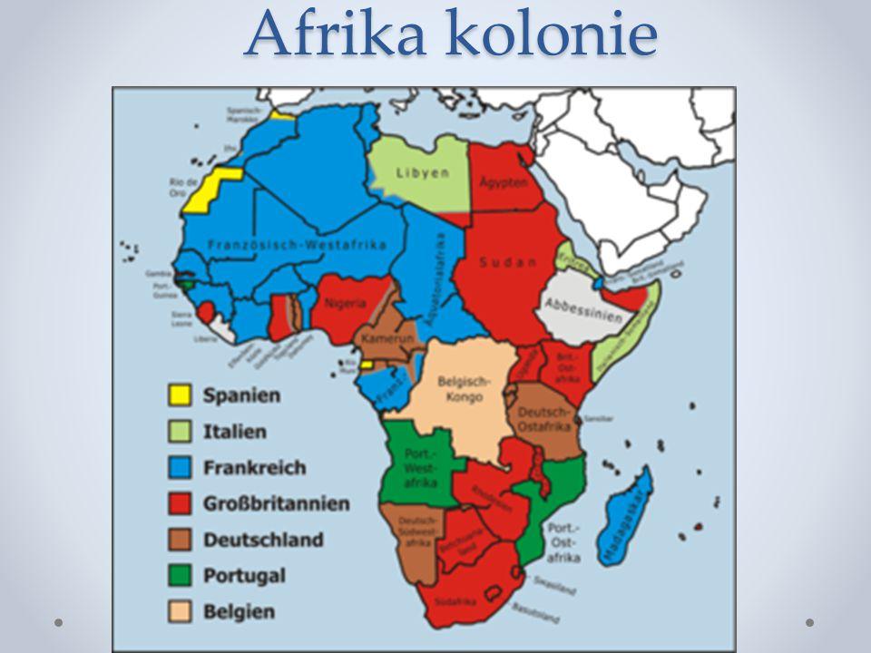 Afrika kolonie