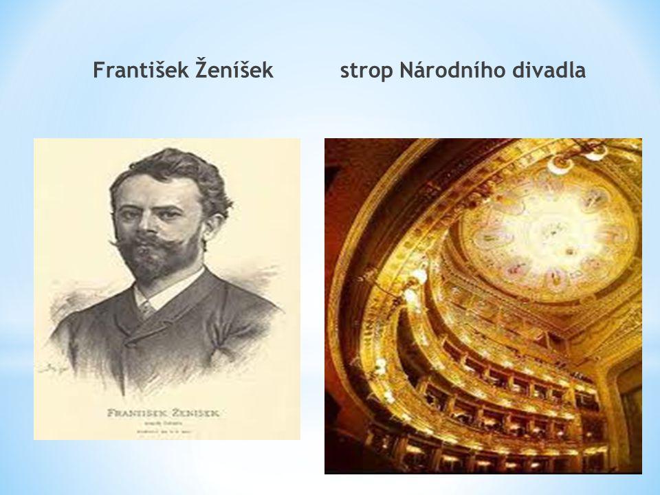 František Ženíšek strop Národního divadla