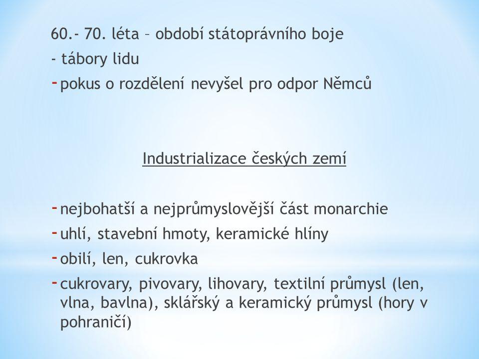 Industrializace českých zemí