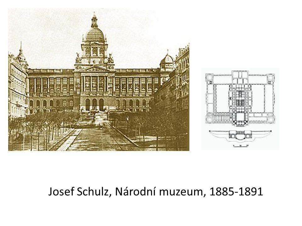 Josef Schulz, Národní muzeum, 1885-1891