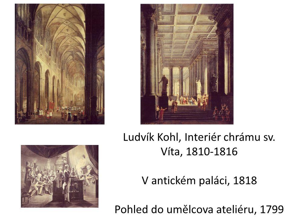 Ludvík Kohl, Interiér chrámu sv