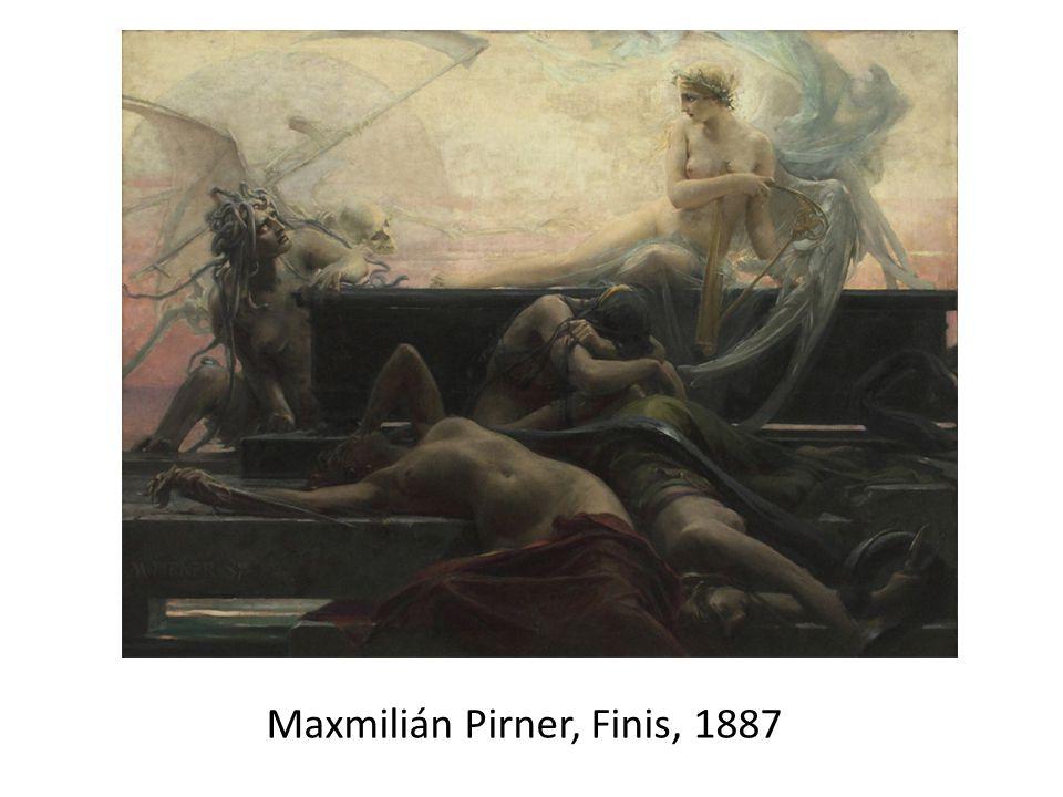 Maxmilián Pirner, Finis, 1887