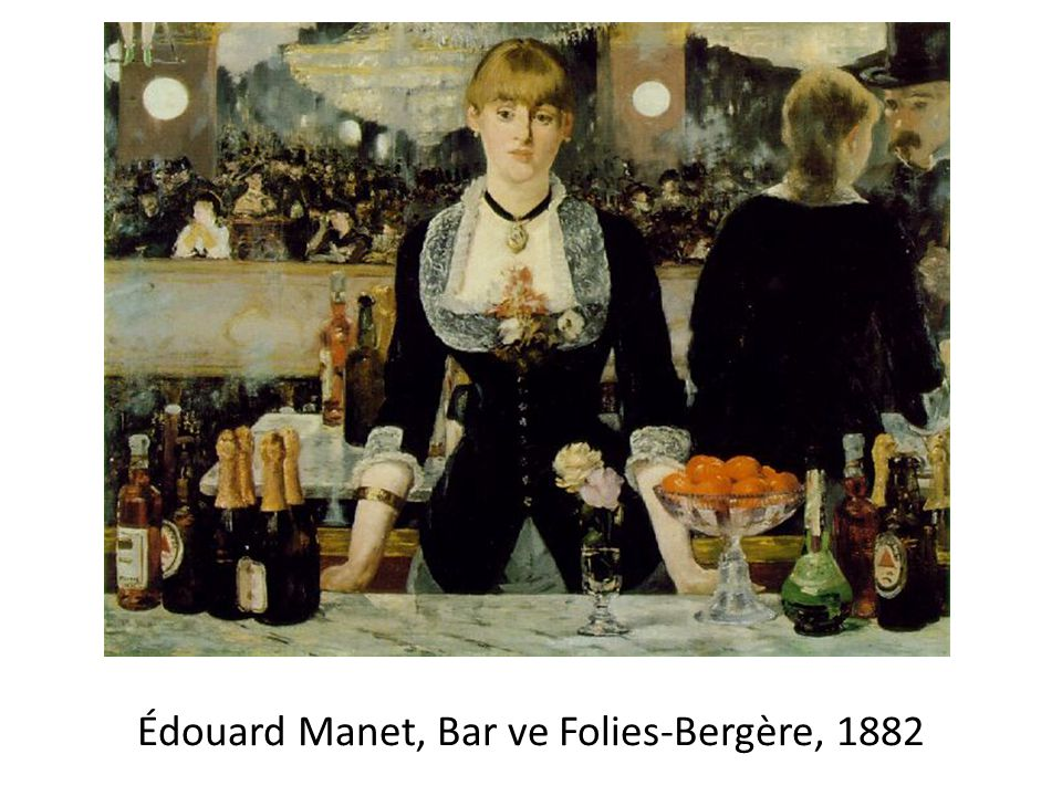 Édouard Manet, Bar ve Folies-Bergère, 1882
