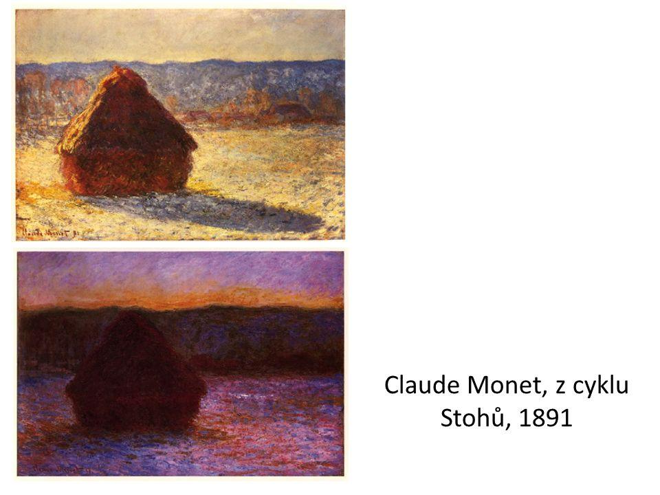 Claude Monet, z cyklu Stohů, 1891