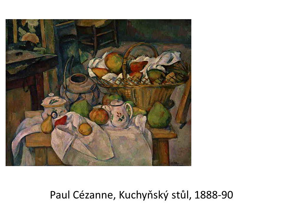 Paul Cézanne, Kuchyňský stůl, 1888-90