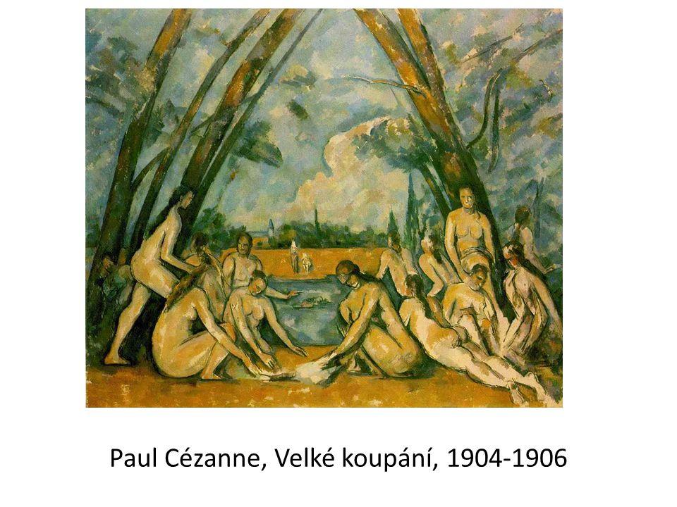 Paul Cézanne, Velké koupání, 1904-1906