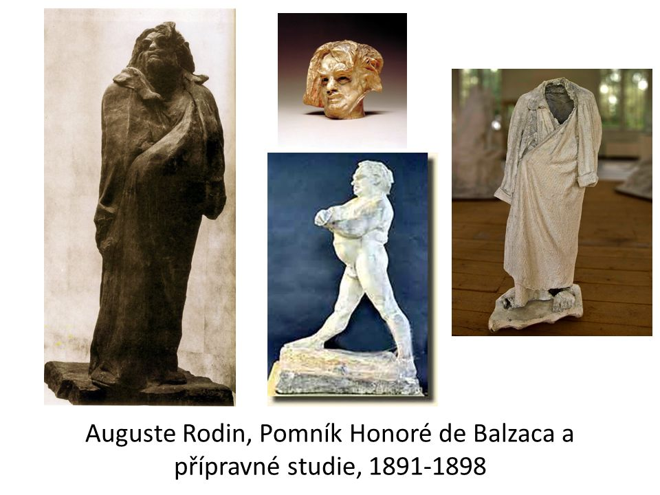 Auguste Rodin, Pomník Honoré de Balzaca a přípravné studie, 1891-1898