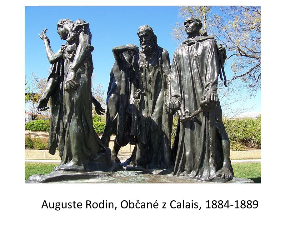 Auguste Rodin, Občané z Calais, 1884-1889