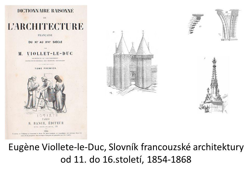 Eugène Viollete-le-Duc, Slovník francouzské architektury od 11. do 16