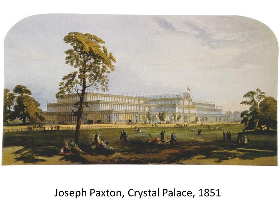 Joseph Paxton, Crystal Palace, 1851