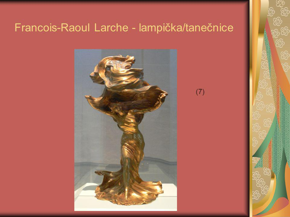 Francois-Raoul Larche - lampička/tanečnice