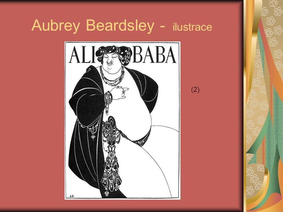 Aubrey Beardsley - ilustrace