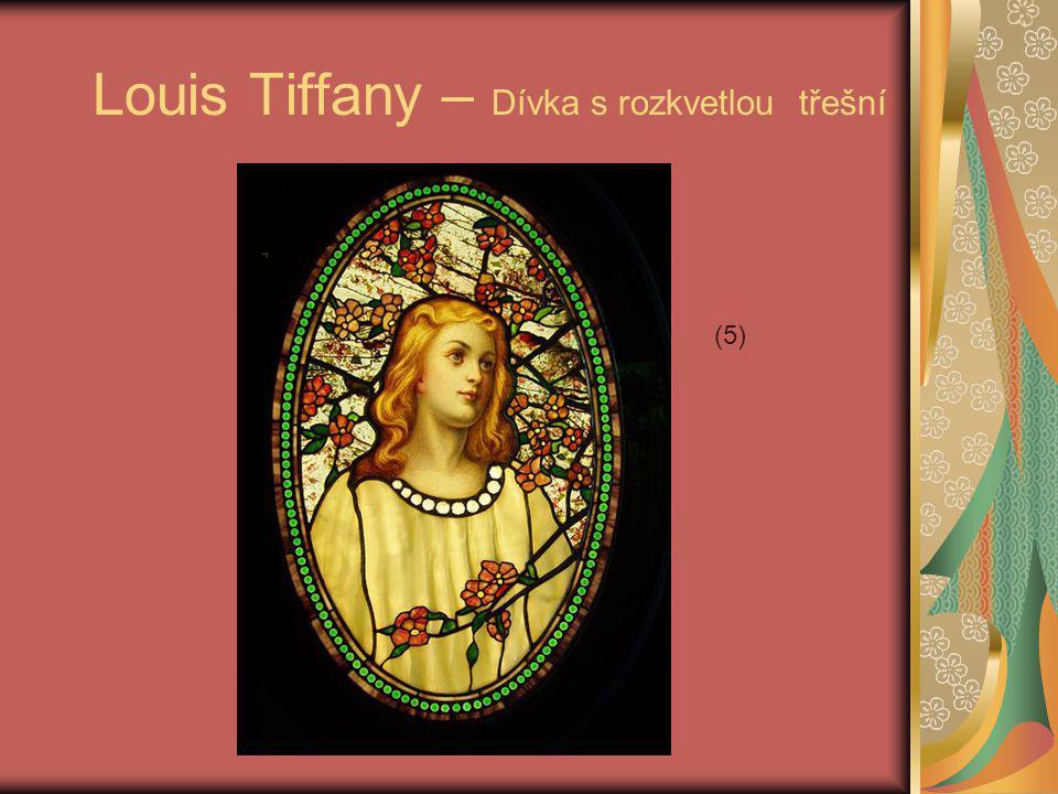 Louis Tiffany – Dívka s rozkvetlou třešní