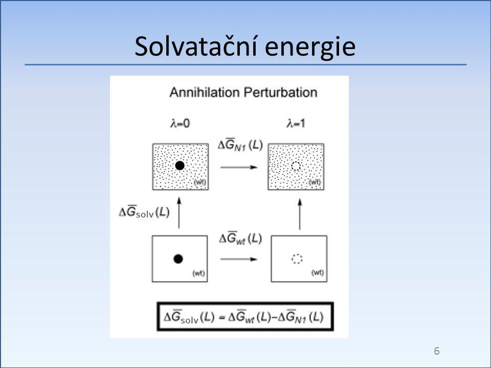 Solvatační energie