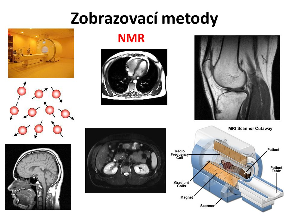 Zobrazovací metody NMR