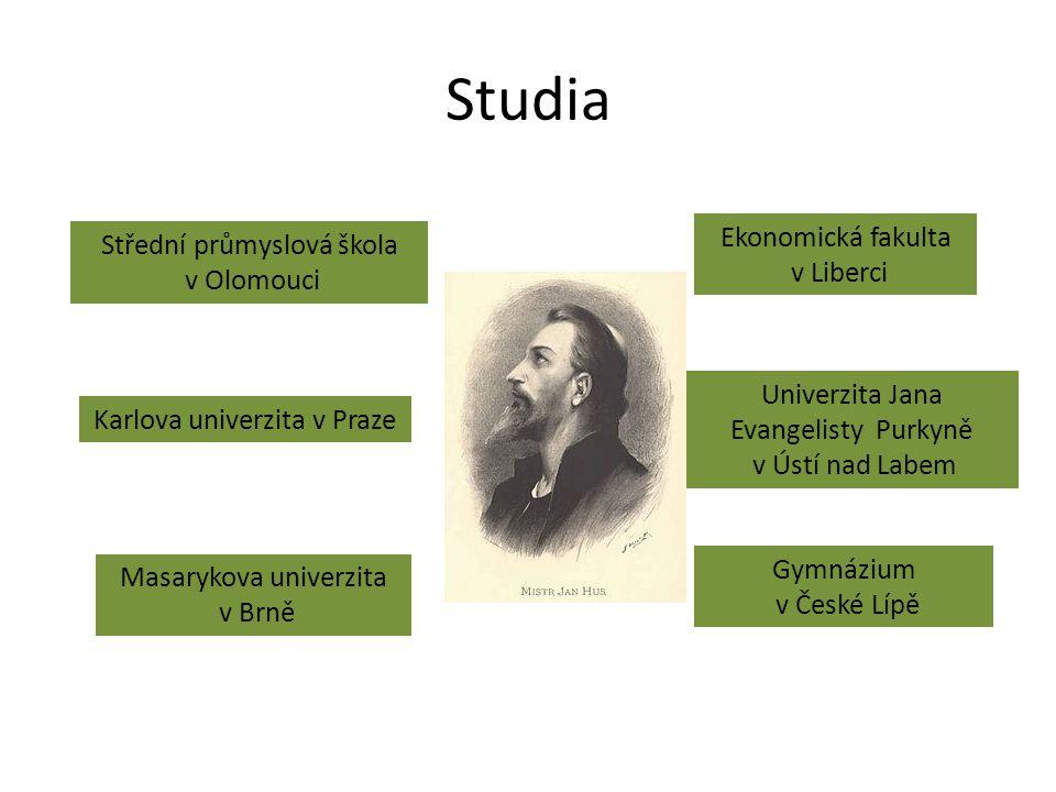 Studia Ekonomická fakulta Střední průmyslová škola v Liberci
