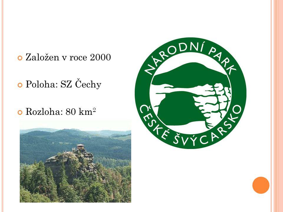 Založen v roce 2000 Poloha: SZ Čechy Rozloha: 80 km2