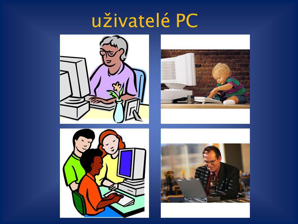 uživatelé PC Klipart